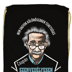 Szenvedélyes Einstein- Prémium tornazsák