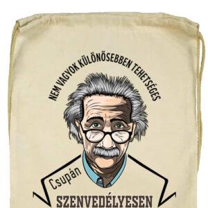 Szenvedélyes Einstein- Basic tornazsák