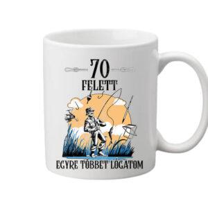 Horgász 70 felett – Bögre