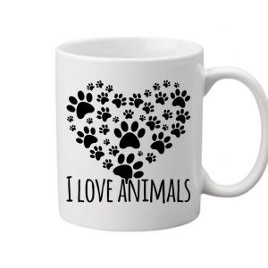 I love animals – Bögre