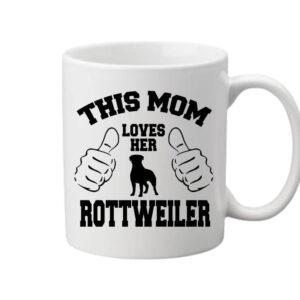 Mom's rottweiler – Bögre