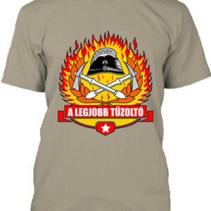 A legjobb tűzoltó – Férfi póló