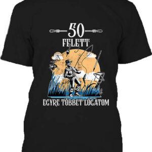 Horgász 50 felett – Férfi póló