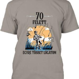 Horgász 70 felett – Férfi póló