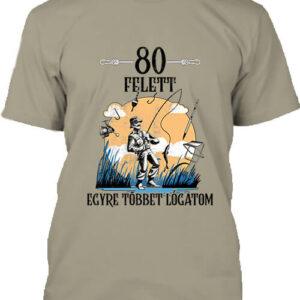 Horgász 80 felett – Férfi póló