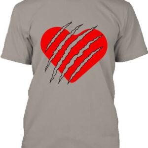 Macska szív – Férfi póló