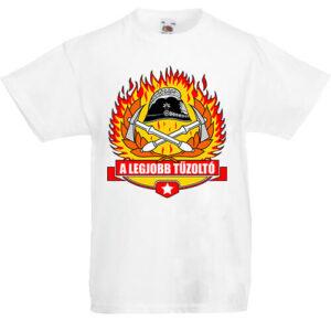 A legjobb tűzoltó- Gyerek póló