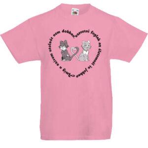 Amíg a szívem szerelem- Gyerek póló