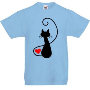 Macska szerelem- Gyerek póló