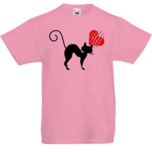 Macskamánia- Gyerek póló