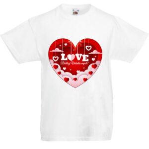 Valentin nap- Gyerek póló