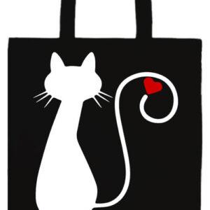 Cica imádat- Basic hosszú fülű táska