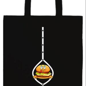 Hamburger- Prémium hosszú fülű táska