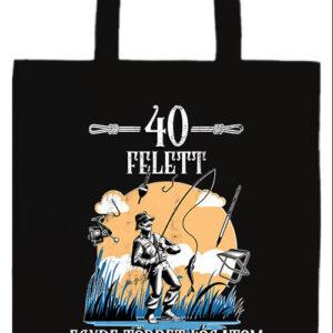 Horgász 40 felett- Prémium hosszú fülű táska