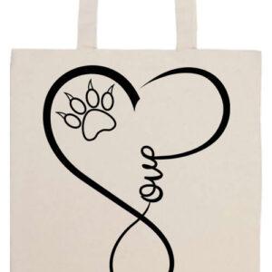Love cat- Basic hosszú fülű táska