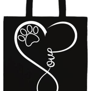 Love dog- Basic hosszú fülű táska