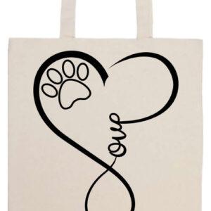 Love dog- Prémium hosszú fülű táska