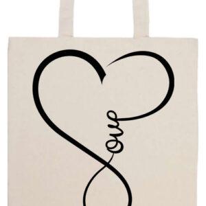 Love- Basic hosszú fülű táska