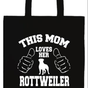 Mom's rottweiler- Prémium hosszú fülű táska