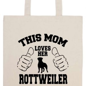 Mom's rottweiler- Basic hosszú fülű táska