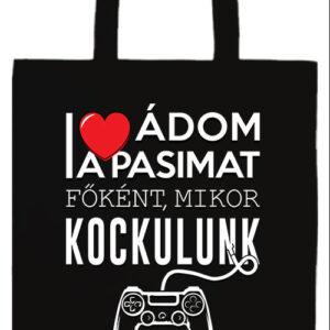 Imádom a pasimat- Prémium hosszú fülű táska