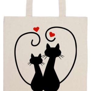 Szerelem- Basic hosszú fülű táska