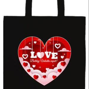 Valentin nap- Prémium hosszú fülű táska