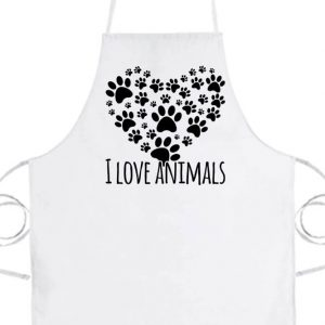 I love animals- Prémium kötény