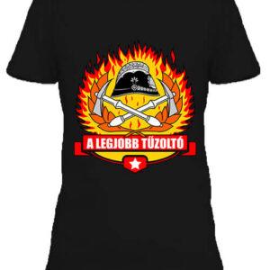 A legjobb tűzoltó – Női póló