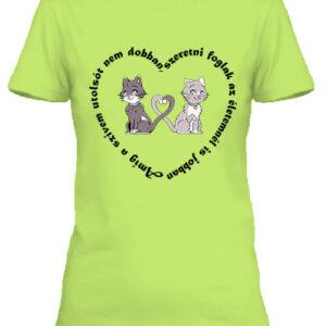 Amíg a szívem szerelem – Női póló