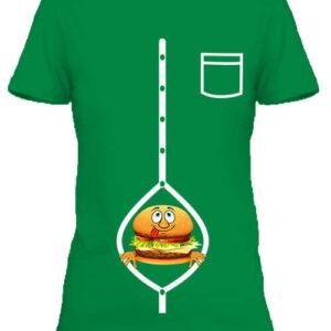 Hamburger – Női póló