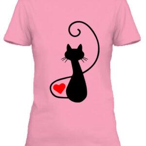 Macska szerelem – Női póló
