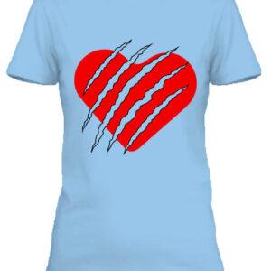 Macska szív – Női póló