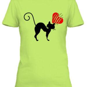 Macskamánia – Női póló