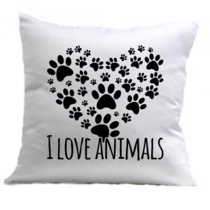 I love animals – Párna