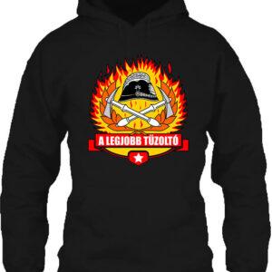 A legjobb tűzoltó – Unisex kapucnis pulóver