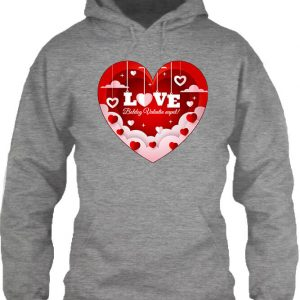Valentin nap – Unisex kapucnis pulóver