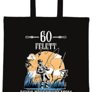 Horgász 60 felett- Basic rövid fülű táska