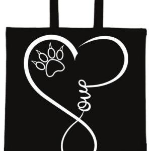 Love cat- Basic rövid fülű táska