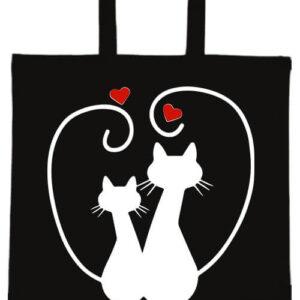 Szerelem- Basic rövid fülű táska