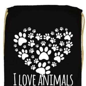 I love animals- Basic tornazsák