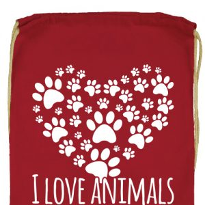 I love animals- Prémium tornazsák