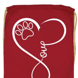 Love dog- Prémium tornazsák