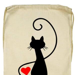 Macska szerelem- Basic tornazsák