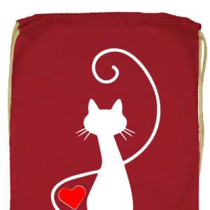 Macska szerelem- Prémium tornazsák