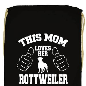 Mom's rottweiler- Prémium tornazsák