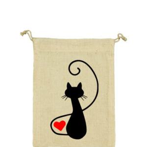 Macska szerelem – Vászonzacskó kicsi