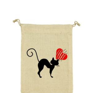Macskamánia – Vászonzacskó kicsi