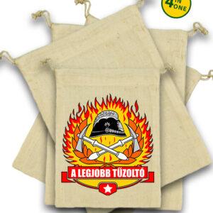 A legjobb tűzoltó – Vászonzacskó szett