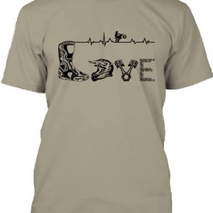 Love motocross – Férfi póló